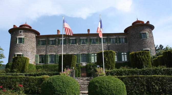 Le château de Chavaniac…
