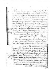 + Simon FERY & Elisabet COCHET 28 janvier 1815
