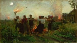 La fête de la Saint-Jean, 1875, Jules Breton