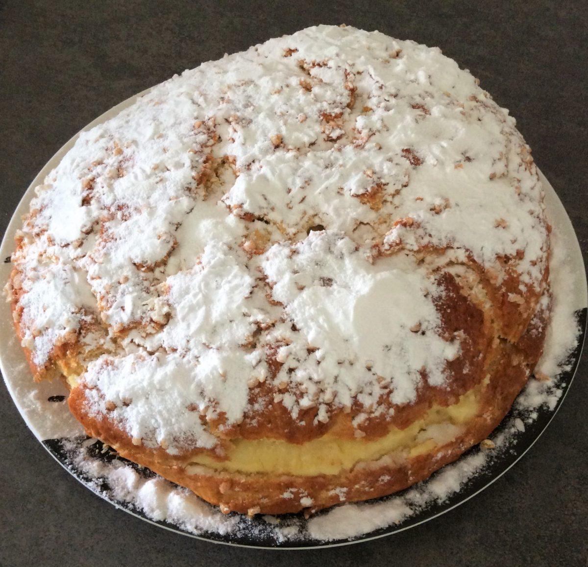 #MaCuisineAncestrale… La tarte tropézienne…