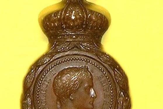 La médaille de Sainte-Hélène en Haute-Loire