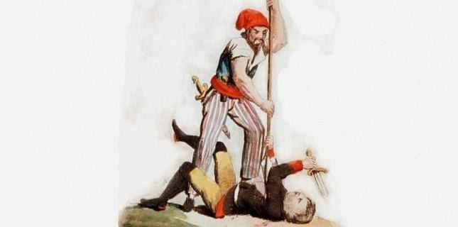 L'exécution de Joseph Antoine Vital Boyer de Montcelard, Seigneur de Gizac…