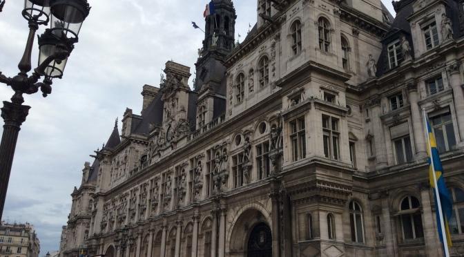 L'Hôtel de Ville de Paris…